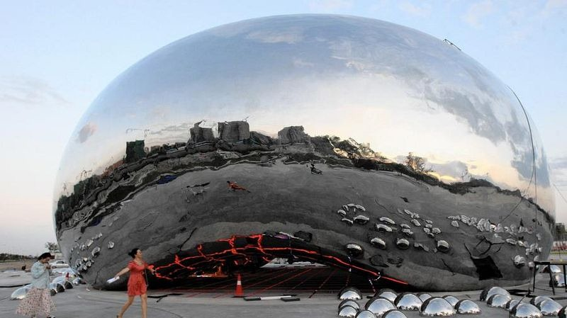 Big Oil Bubble Karamay