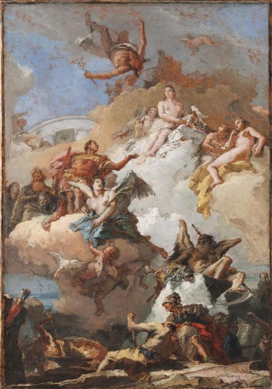 The Apotheosis of Aeneas by Tiepolo